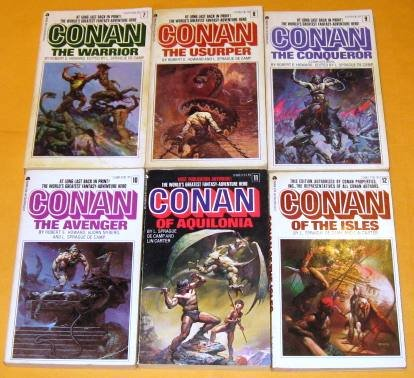 Conan the Cimmerian books