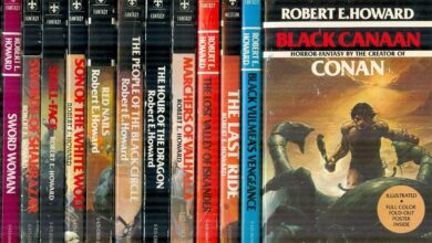 the Robert E. Howard books