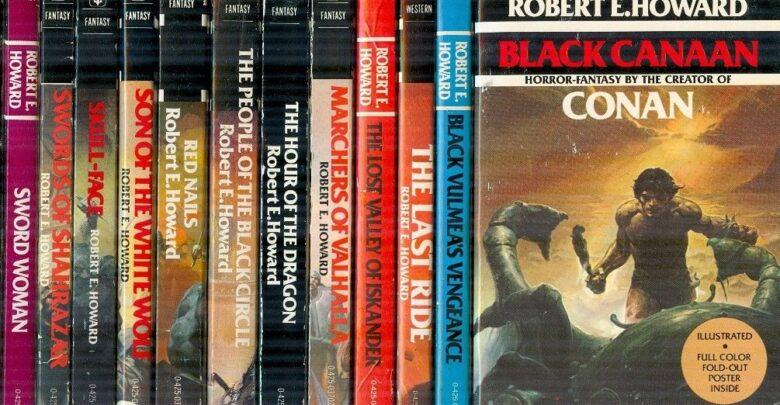 the Robert E. Howard books